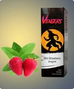 hangsen căpșuni cu mentă