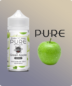 pure green apple