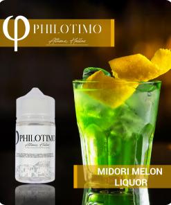 midori melon liquor philotimo