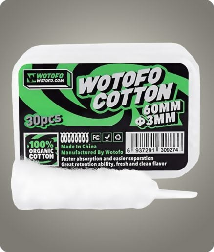 bumbac organic wotofo
